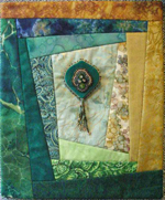 Bead-Embellished Brooches with Display Quilt 5